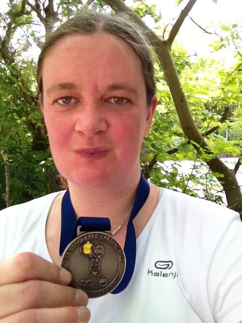 Medal selfie