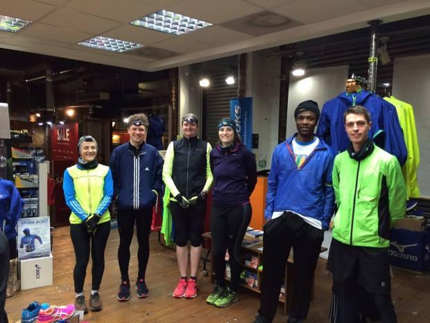 Up and Running Night Run Jan