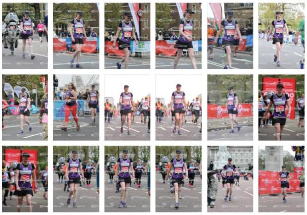 Marathon misery