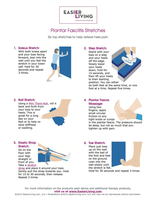 PF stretches