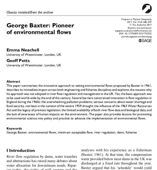 Baxter paper