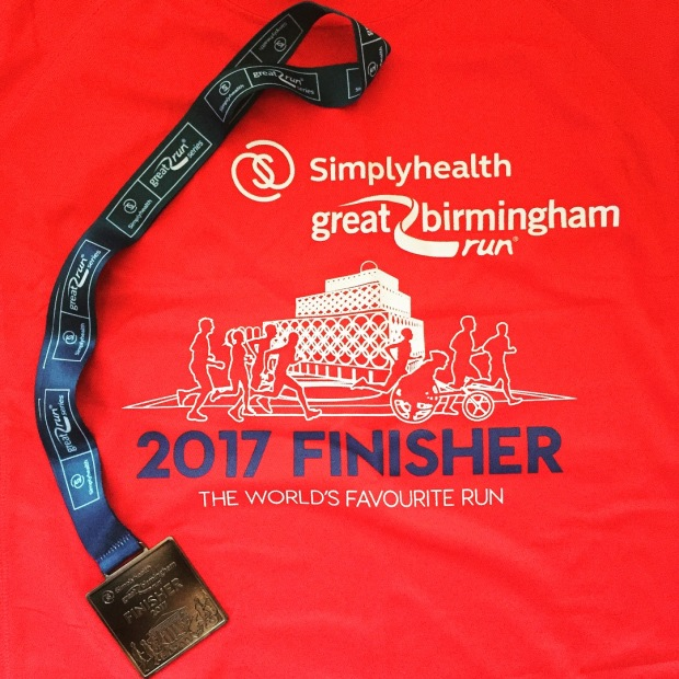 Medal and tshirt
