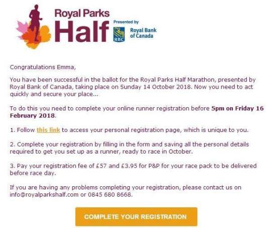 Royal Parks Half