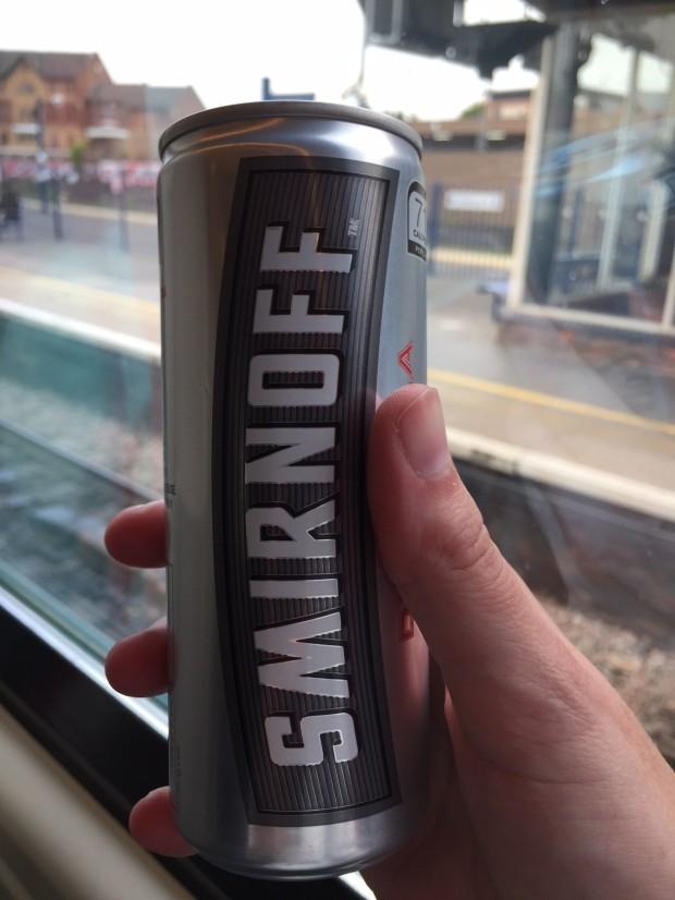 Train booze