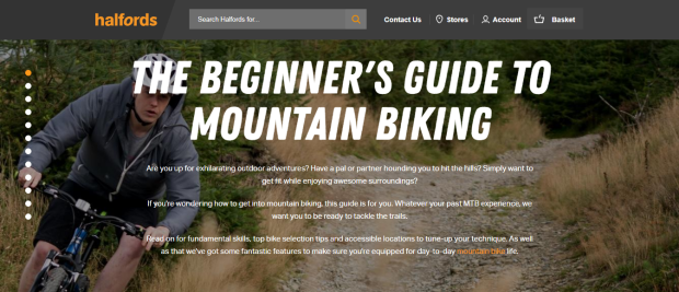 Beginners Guide Halfords