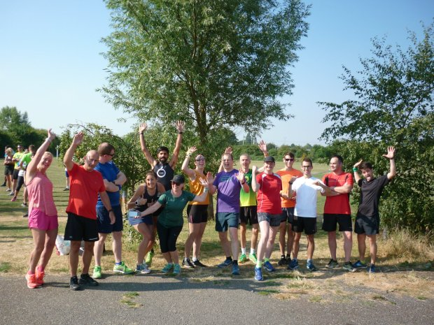 Didcot pakrun group 2