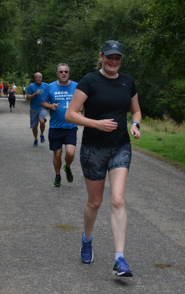 Sutton Park parkrun finish