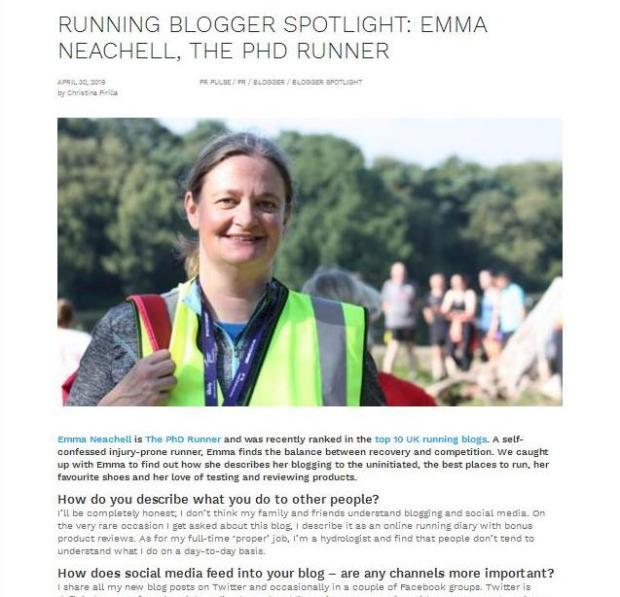 Blogger Spotlight 2019