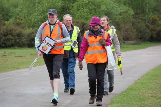 Sutton Park parkrun tail walker