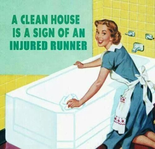 Clean House Injured Runner