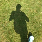 Running from my shadow