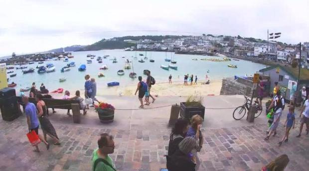 St Ives Harbour webcam