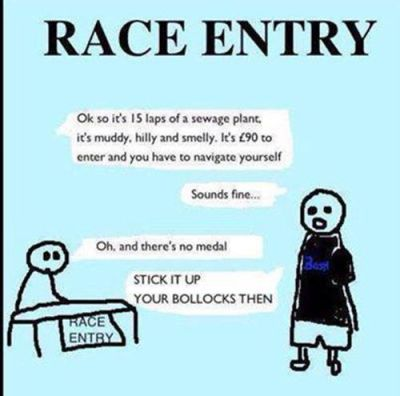 Race entry